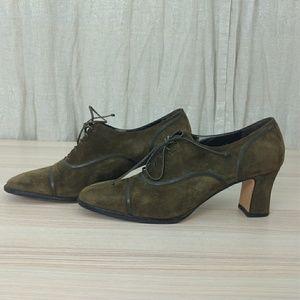 Salvatore Ferragamo heels shoes. Made in Italy.